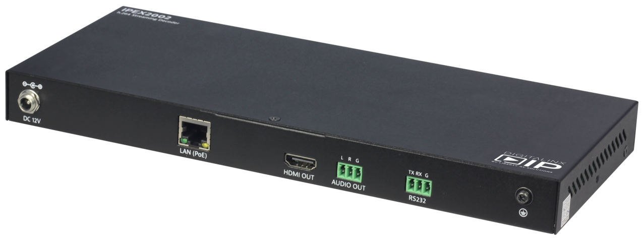 IPEX2002 - HDMI Over IP decoder Scalable 1080P Solution w/ full Matrix & Video Wall Capability