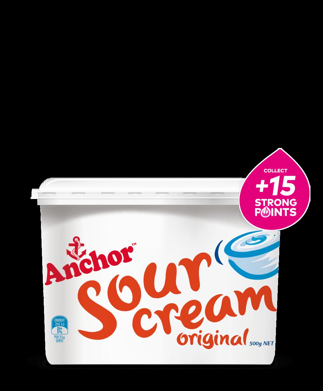 Anchor Sour Cream Original 500g tub