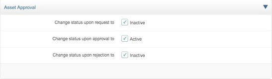 Configure approval settings