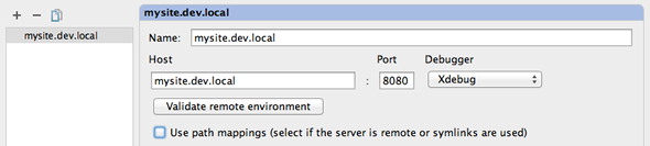 Configure a debug server