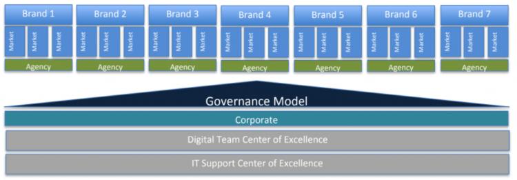 Hybrid governance diagram