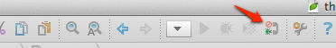 The listen icon in the PhpStorm toolbar