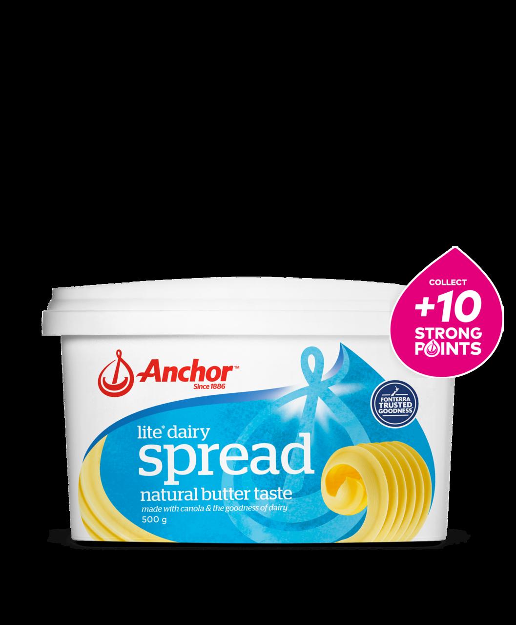 Anchor Dairy Blend Spread Lite 500g tub