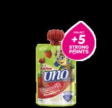 Anchor Uno Strawberry Yoghurt Pouch 100g