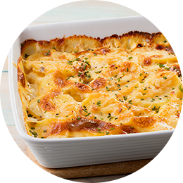 Cheesy Potato Bake