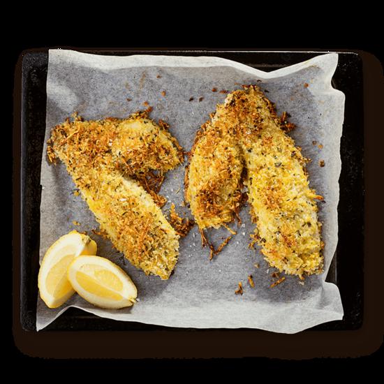 Parmesan Panko Fish
