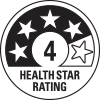 4 health star rating