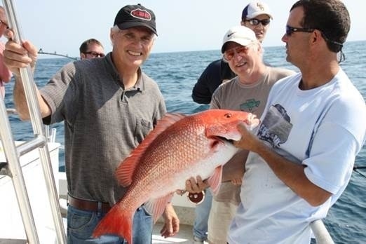 Fishing for red snapper