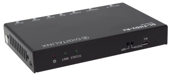 Uncompressed 18G HDMI 2.0 over fiber extender with IR, RS232, ARC extension 4k60 4:4:4, HDR, HDCP2.2