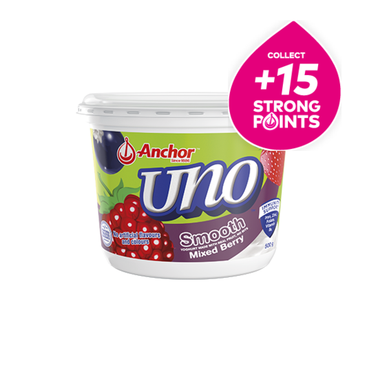 Anchor Uno Mixed Berry Yoghurt 500g