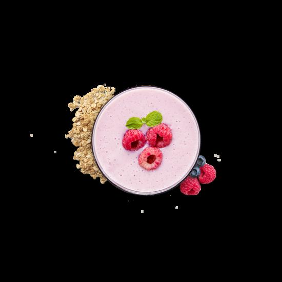 Smoothie de berries y avena