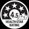 4.5 health star rating