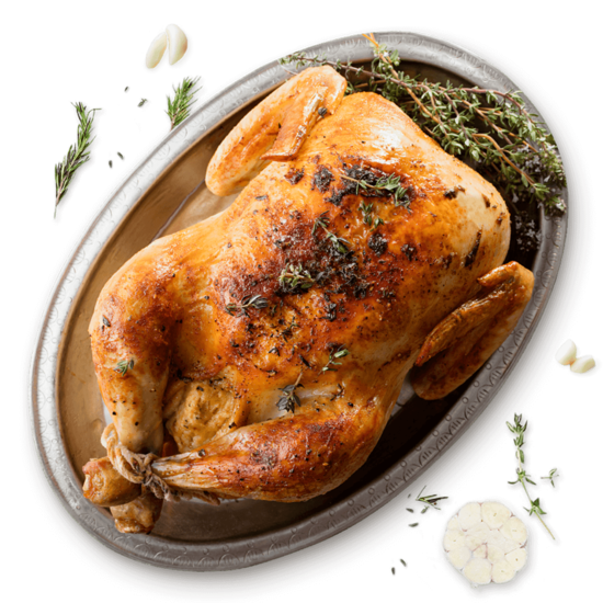 Roasted Chicken with Stuffing
